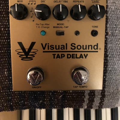Visual Sound Tap Delay