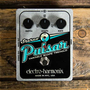 Electro-Harmonix Stereo Pulsar Tremolo Pedal