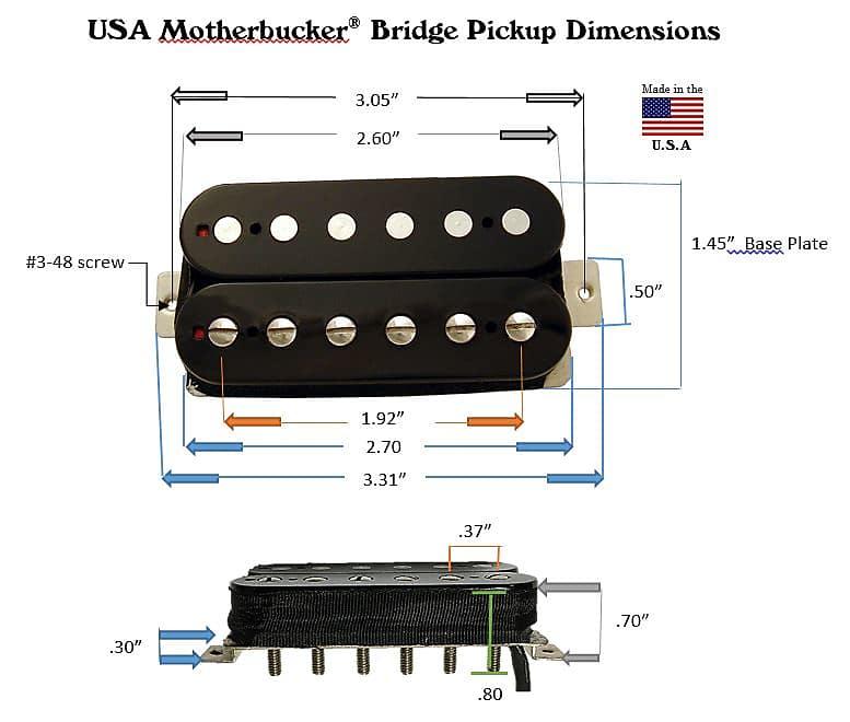 Mighty Mite Motherbucker® 20k Pickup | Mighty Mite | Reverb