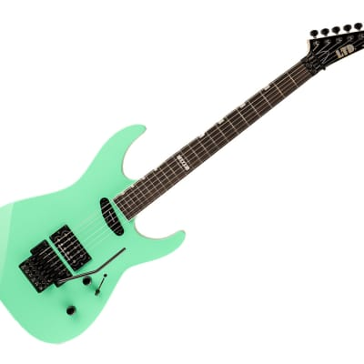 ESP LTD Mirage Deluxe '87 FR - Turquoise - Used for sale