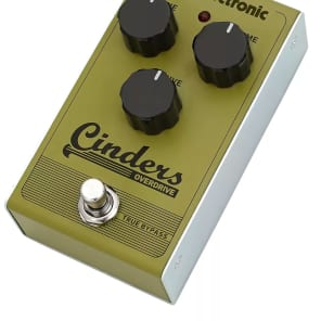 TC Electronic Cinders Analog Overdrive Pedal