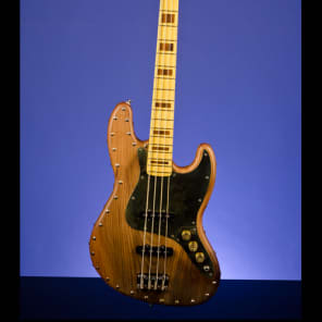 Paoletti Wine Series Millesimata Skybass [Jazz Bass Style] 2014 Chestnut for sale