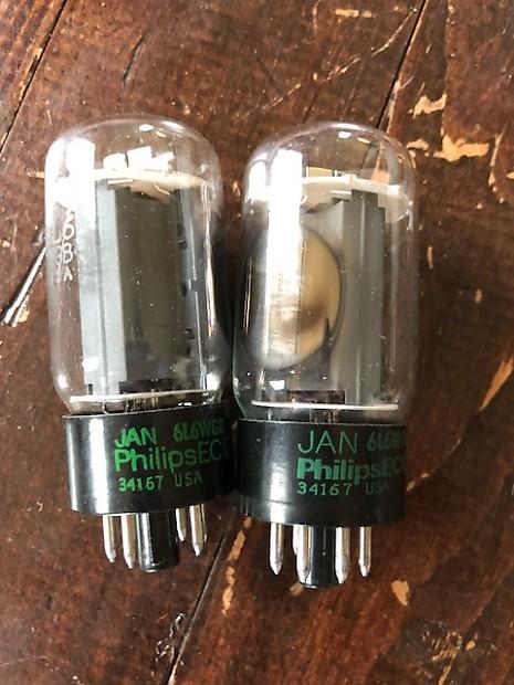 JAN Philips 6L6 WGT - Matched Pair | Boutique Effects Shop
