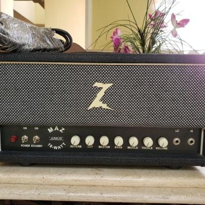 Dr. Z Maz 18 Junior Amp Head (20th Anniversary) with Reverb - Black