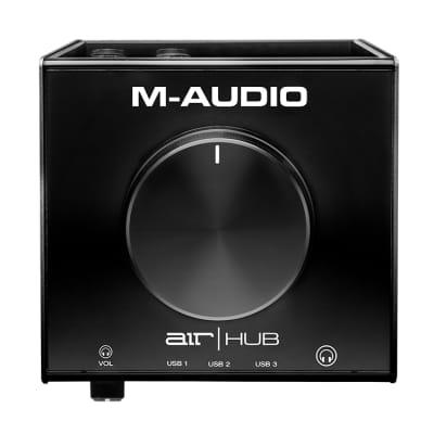 M-Audio Air Hub USB Monitoring Audio Interface AirHub wtih 3-port USB Hub