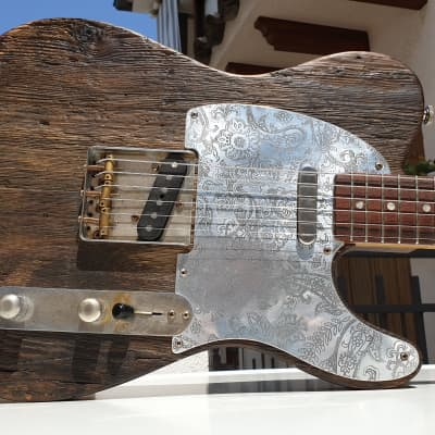 Nick Page Telecaster Masterbuilt(400 years old wood) for sale
