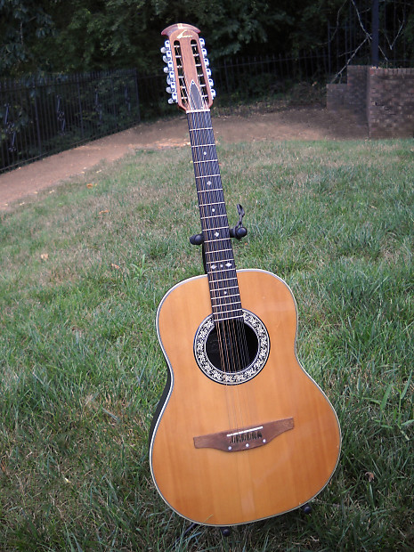 vintage ovation 12 string acoustic guitar model no 1115 4 reverb. Black Bedroom Furniture Sets. Home Design Ideas