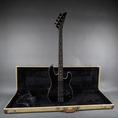 Charvel Bass USA American Made Custom Record Company Order 1984 Black/Ebony for sale