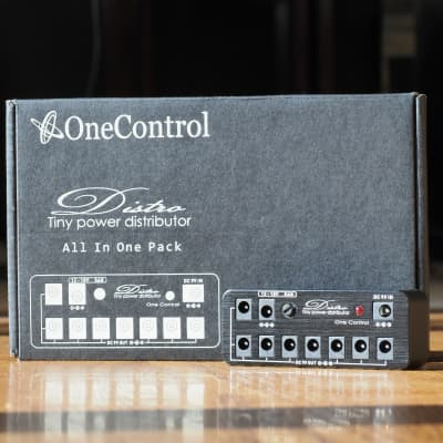 One Control Micro Distro Tiny Power Distributor Power Supply for Pedal Board for sale
