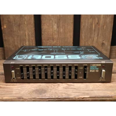 Boss RGE-10 Graphic Equalizer (gray version) for sale