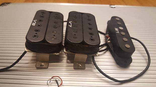 Early 90s Ibanez S Series HSH V7 S1 V8 Pickups - DiMarzio Design - on