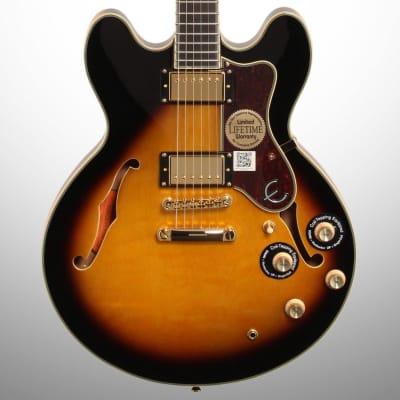 Epiphone Sheraton-II PRO Electric Guitar, Vintage Sunburst