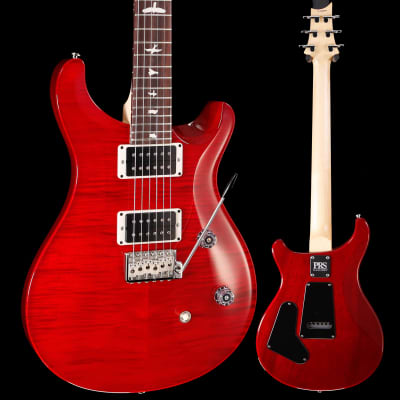 PRS Paul Reed Smith CE24 Bolt-On, Pat Thin, Scarlet Red 694 8lbs 0oz for sale