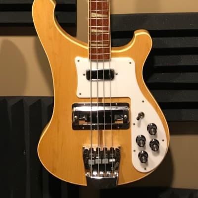 Rickenbacker 4001 Bass Guitar 1980 Mapleglo