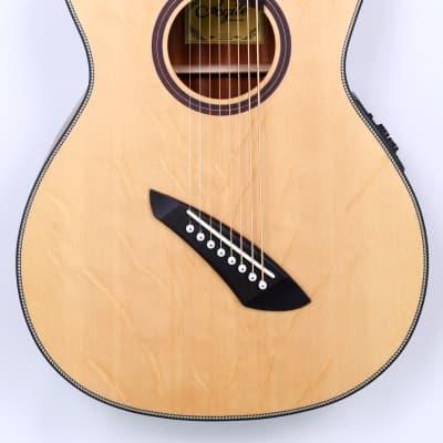 Agile Renaissance 82730 RN EQ NA Left Handed 8 String Fan Fret Acoustic Guitar for sale