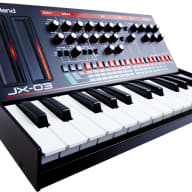 Roland Boutique JX-03 & K25M Sound Module and Keyboard Combo