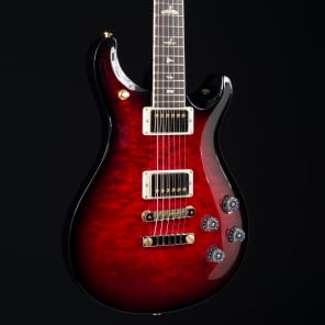 PRS 2017 NOS McCarty 594 10 Top Ruby Smokewrap Burst 8047