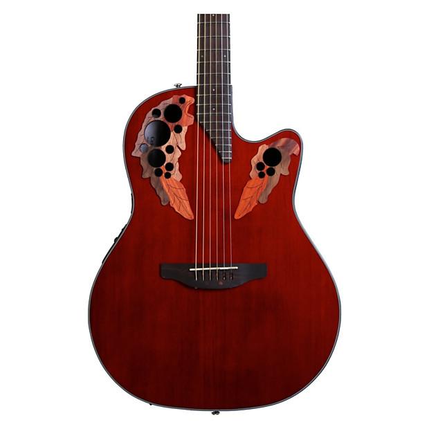 ovation ce44 rr celebrity elite a e guitar bundle geartree reverb. Black Bedroom Furniture Sets. Home Design Ideas