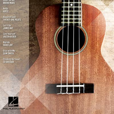 Hal Leonard Ukulele Play Along Vol. 40 - Today's Hits Book