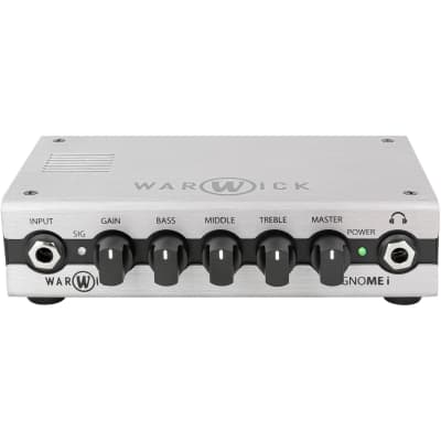 Warwick Gnome I 200W Pocket Bass Amp Head with USB Interface for sale