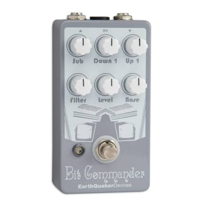 EARTHQUAKER DEVICES BIT COMMANDER MONOPHONIC ANALOG GUITAR SYNTH for sale