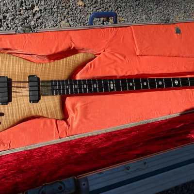 Alembic Epic Special Edition 1998 Beautiful Flamed Maple 4 String!  Original, #8 0f 60.  8.14 Lbs. for sale