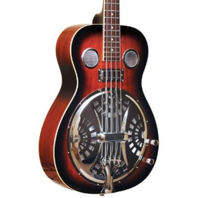 Gold Tone PBB Paul Beard Signature-Series Resonator Bass Guitar w/ Case for sale