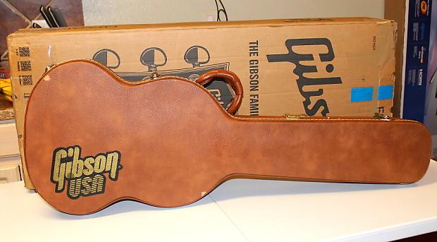 gibson les paul hard shell tkl gibson tan brown usa guitar reverb. Black Bedroom Furniture Sets. Home Design Ideas