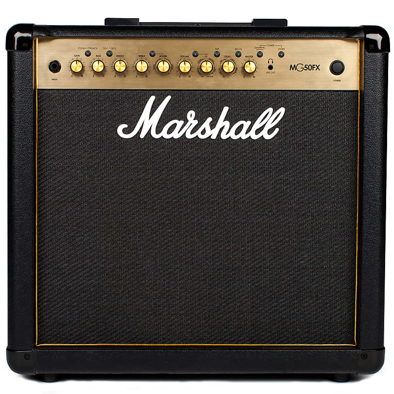 marshall mg50fx gold guitar combo amplifier 1x12 50 reverb. Black Bedroom Furniture Sets. Home Design Ideas