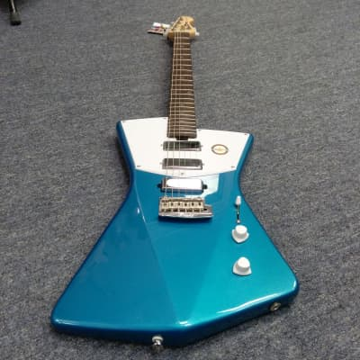 Sterling by Music Man St. Vincent STV60 Electric Guitar, Vincent Blue for sale
