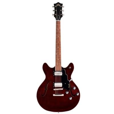 Guild NEWARK Starfire 1-DC Double Cut Body Electric Guitar with Tune-O-Matic Bridge - Vintage Walnut for sale