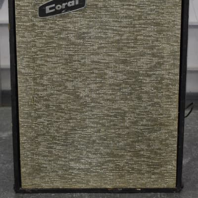 Dan Electro Vintage Coral Jupiter Head 50 and J-312 Cabinet for sale