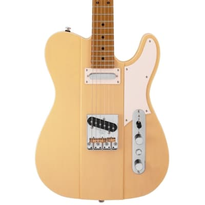 Reverend Greg Koch Signature Gristlemaster with Roasted Maple Neck 2020 Pow Yellow for sale