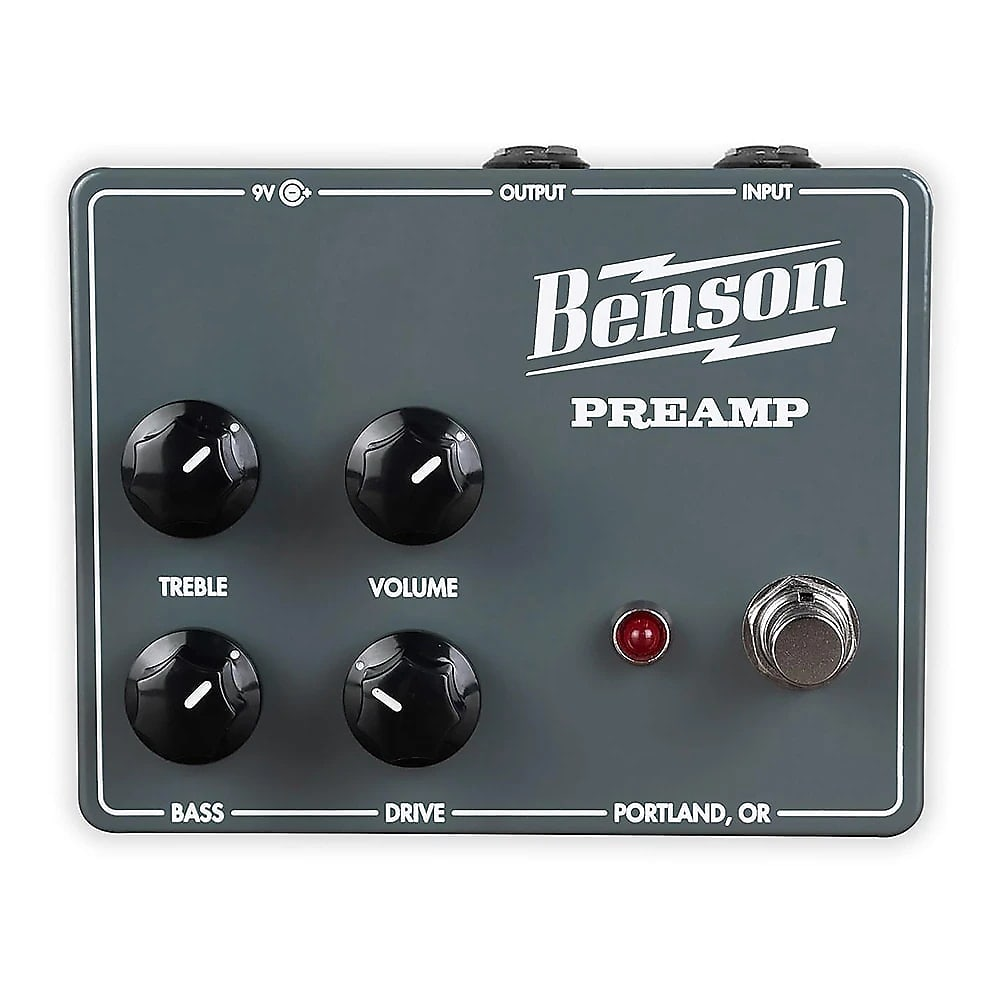 Benson Amps Chimera Preamp Guitar Effects Pedal *Free Shipping*