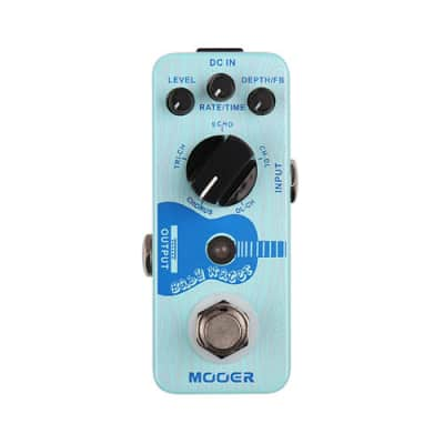 NEW MOOER BABY WATER Acoustic Delay AND Chorus Pedal for sale