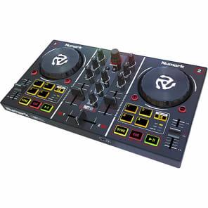 Numark PartyMix DJ Controller w/ Built-In Sound Card, Light Show