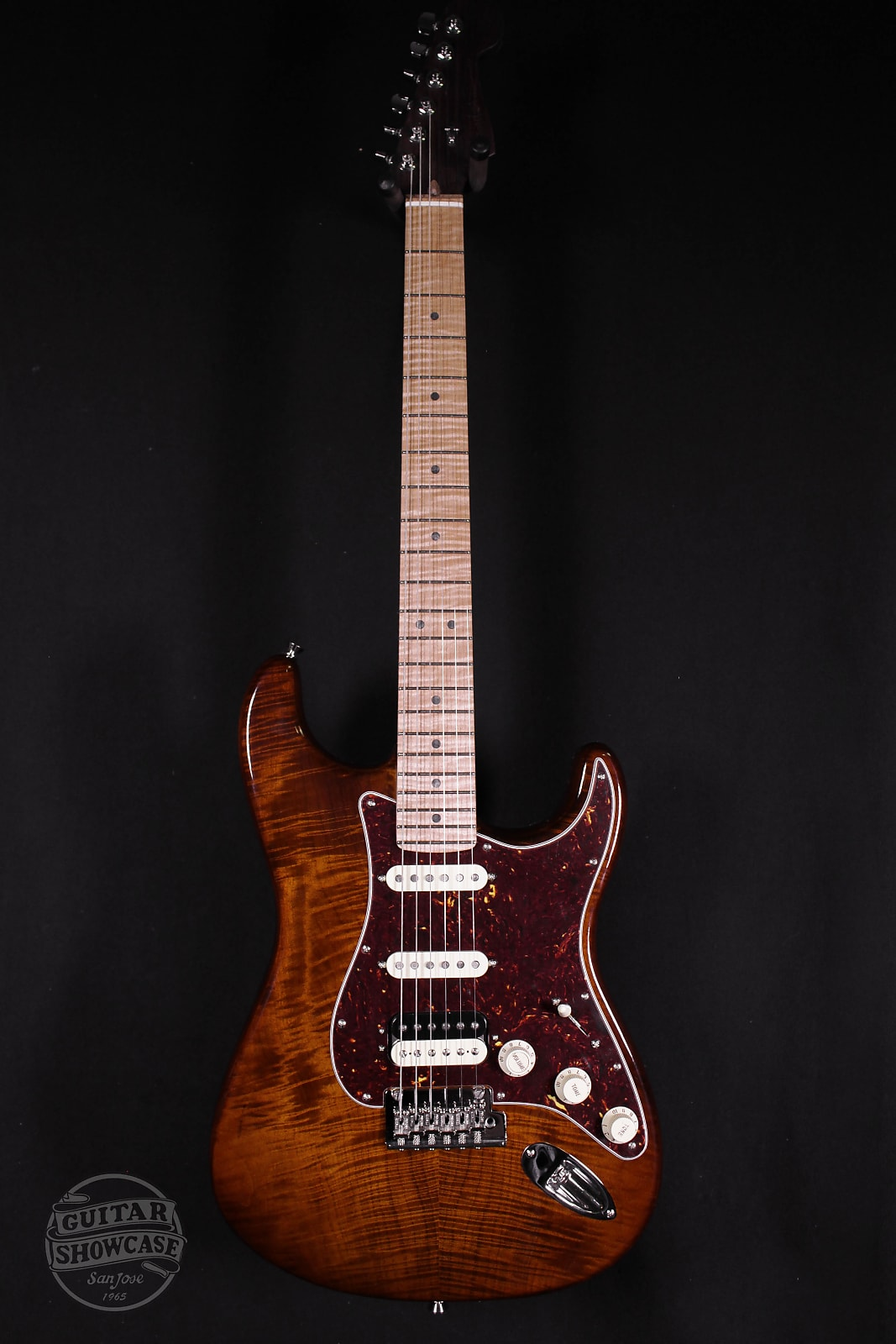 Fender Rarities Flame Maple Top Strat