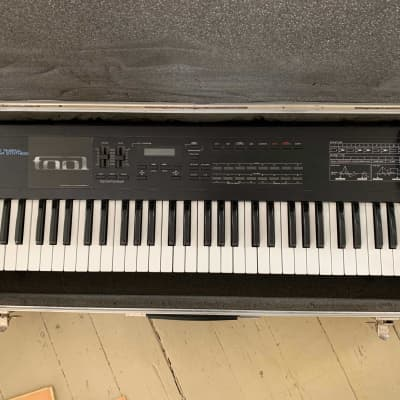 Roland D-10 61-Key Multi Timbral Linear Synthesizer (w/ Calzone Hardshell Case and MINT Manuals)