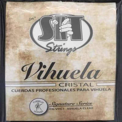 SIT-  CG-VHC1 Pro-Spec Custom Gauge, Vihuela Clear Strings