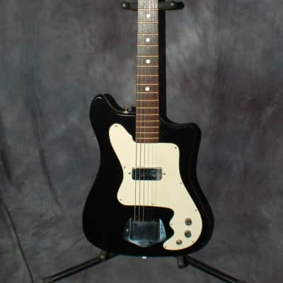 1965 Black Catalina by Kay Vanguard Pancake Case Pickup Pro Setup Original Soft Case for sale