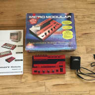 Clavia Nord Micro Modular 1999 Red