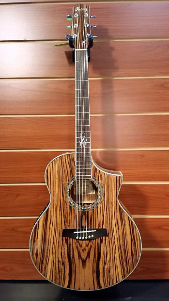 ibanez exotic wood ew20ewz acoustic electric guitar zebrawood reverb. Black Bedroom Furniture Sets. Home Design Ideas