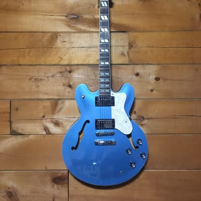 Epiphone Noel Gallagher Supernova ML Electric Guitar Oasis Blue w/ Hard Case for sale
