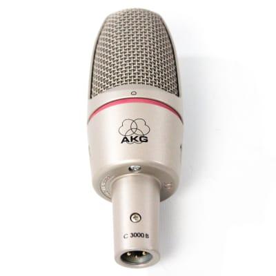 AKG C3000B Large Diaphragm Cardioid Condenser Microphone