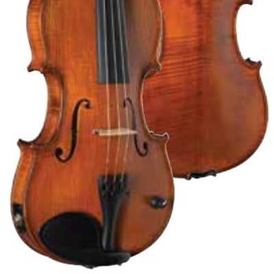 Barcus Berry BB100 Acoustic/Electric Violin Natural Hand Rubbed Finish w/ Case (Blem)