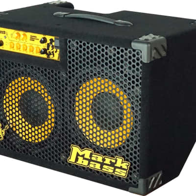 """Markbass MBC105018 CMD 102P 300/500-Watt 2x10"""" Tilt-Back Bass Combo"""