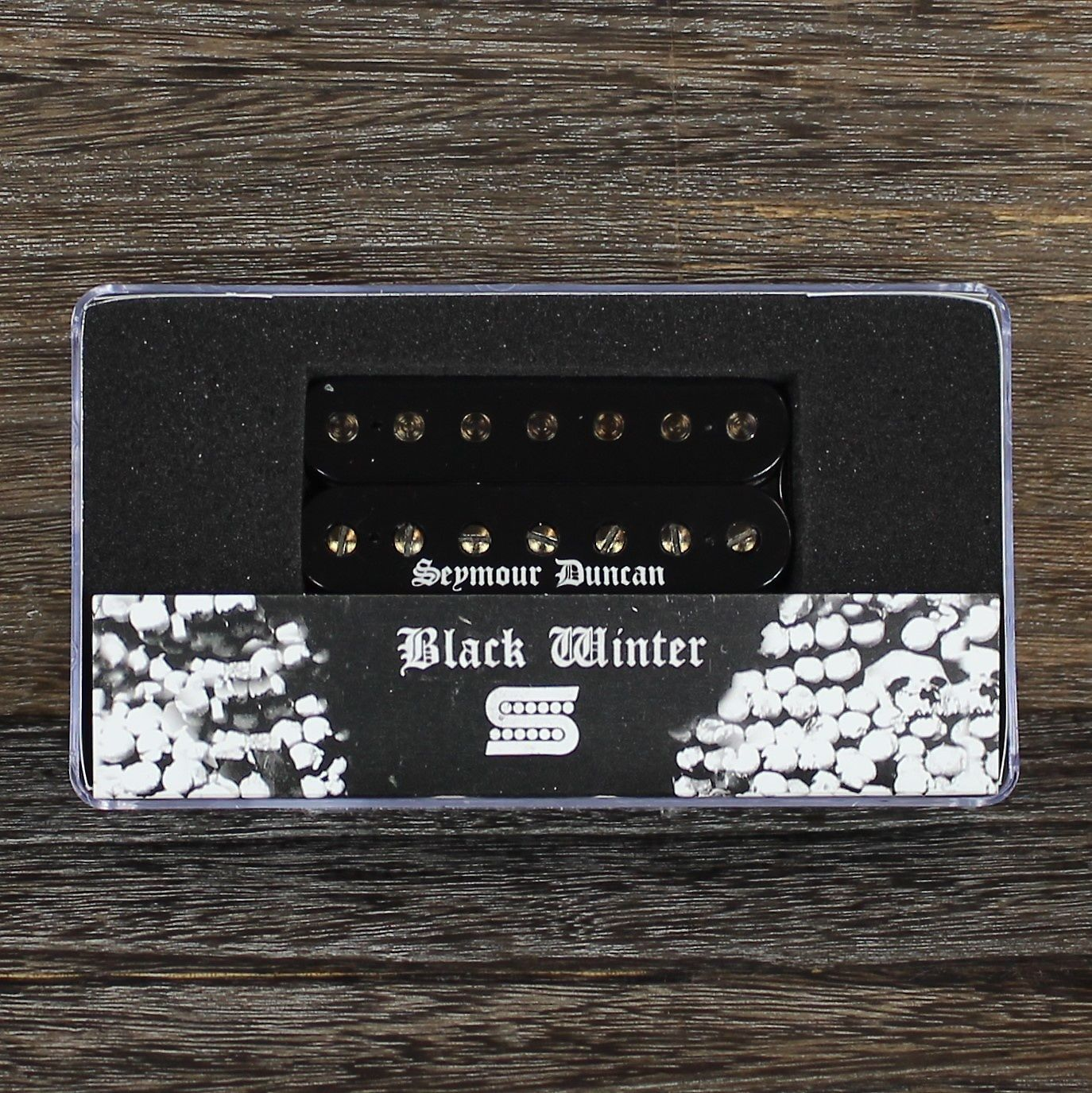 seymour duncan black winter 7 string bridge pickup reverb. Black Bedroom Furniture Sets. Home Design Ideas