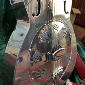 Liberty Steel  LO100 single cone resonator 2005 chrome - new price for sale