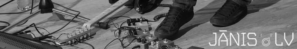 Jānis.lv Effect Pedals