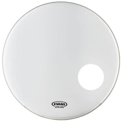Evans BD22RSW EQ3 Resonant Smooth White Bass Drum Head - 22""